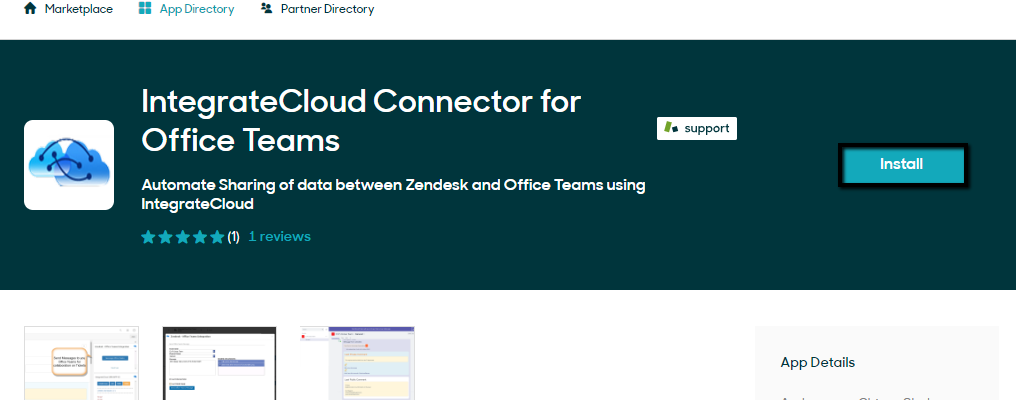 Zendesk Office Team Connector.